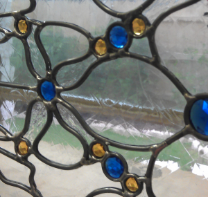 What is Stained Glass:  Leaded Stained Glass