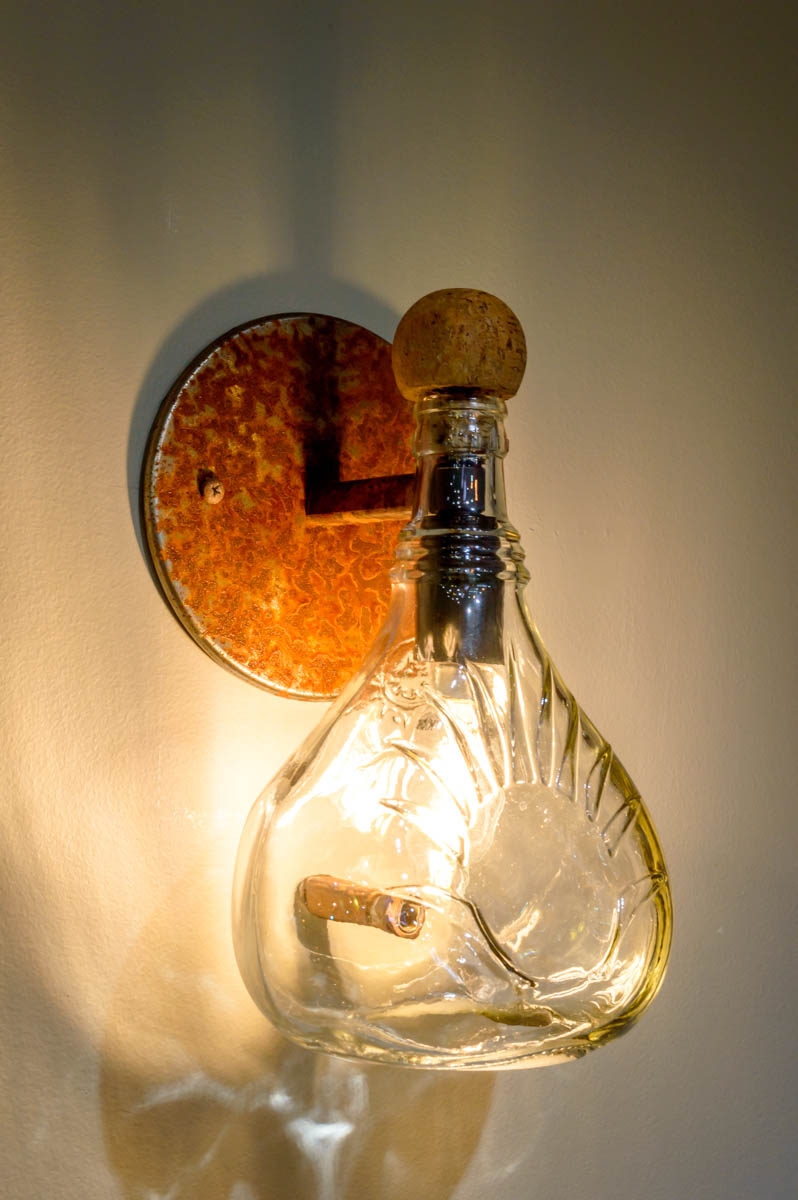 Upcycled Light Fixtures Renegade Art Glass